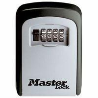 Master Lock 5401EURD seinale kinnitatav numbrikombinatsioonidega võtmeseif