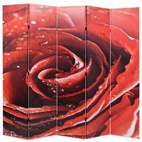 vidaXL kokkupandav sirm 200 x 170 cm, punane roos