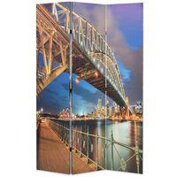 vidaXL kokkupandav sirm 120 x 170 cm, Sydney sadama sild