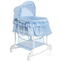 Little World kaks-ühes beebi häll 85 x 70 x 110 cm sinine LWFU002-LBL