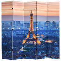 vidaXL kokkupandav sirm 200 x 170 cm, öine Pariis