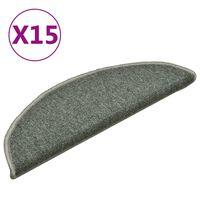 vidaXL trepivaibad 15 tk, tumeroheline, 56 x 17 x 3 cm